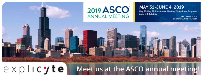 Explicyte intensifies its efforts in translational research & will be attending the ASCO Annual Meeting 2019 in Chicago