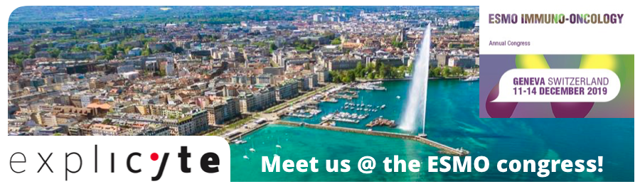 Explicyte will be attending the ESMO Immuno-Oncology Congress In Geneva